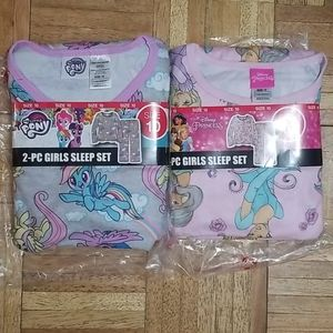 Girl Flannel Pajamas size 10